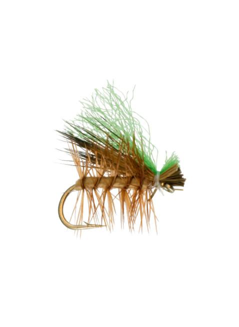 Hi Viz Elk Hair Caddis : Tan