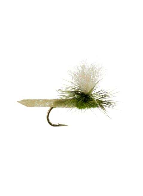 Hi Viz Parachute Caddis : Olive