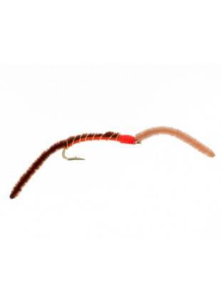 2 Tone San Juan Worm : Brown and Tan