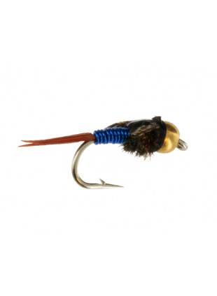 Beadhead Tungsten Copper John : Blue
