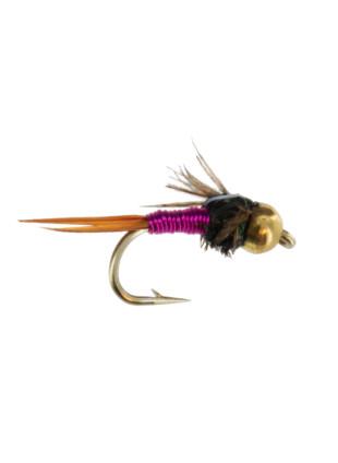 Beadhead Tungsten Copper John : Pink