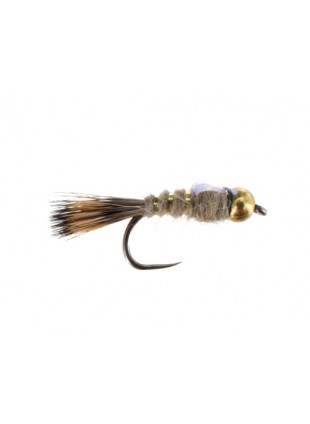 Beadhead Flashback Hares Ear (Barbless)