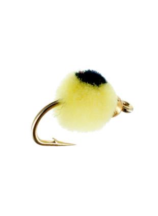 Beadhead Glo Bug : Yellow + Black