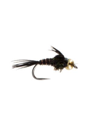 Beadhead Pheasant Tail : Black (Barbless)