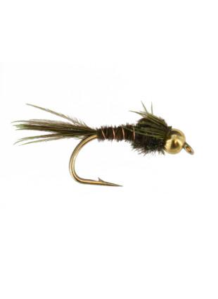Beadhead Tungsten Pheasant Tail : Olive
