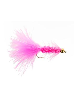 Beadhead Woolly Bugger : Pink