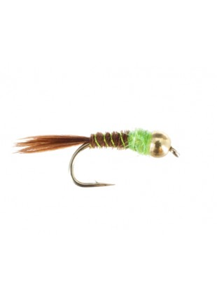 Beadhead Tungsten Frenchie : Chartreuse