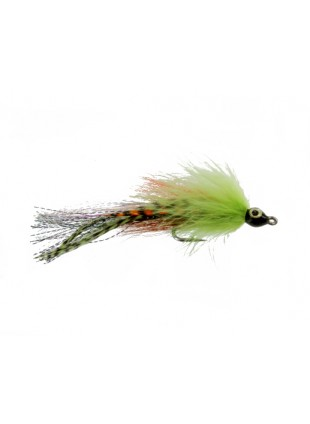 Bullethead Baitfish : Chartreuse and Orange