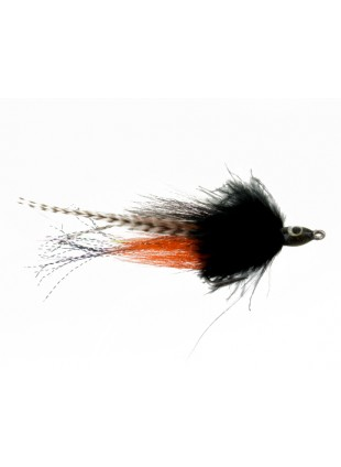 Bullethead Baitfish : Black and Orange