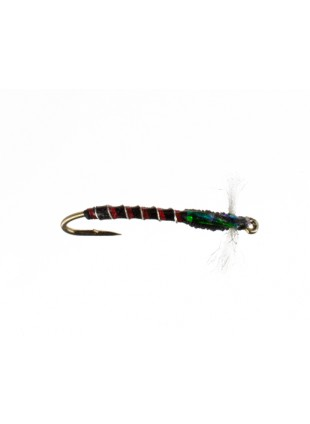 Crystal Chironomid : Black and Red