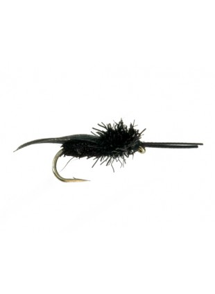 Deer Hair Caddis : Black