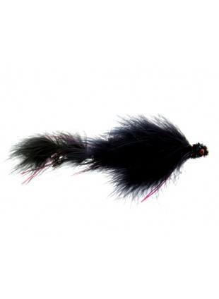 Double Peanut : Black and Red (Double Articulated)