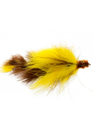 Double Peanut : Yellow and Brown (Double Articulated)