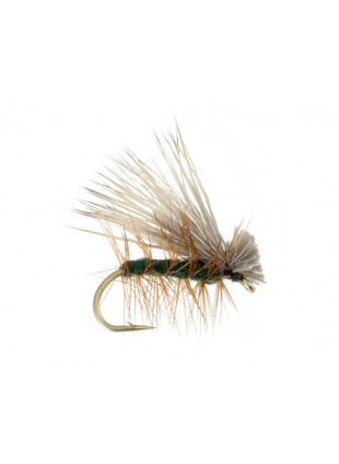 Elk Hair Caddis : Dark Green
