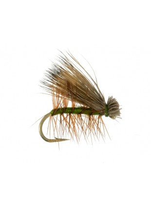 Elk Hair Caddis : Olive