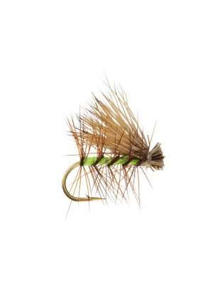 Elk Hair Caddis : Flourescent Green
