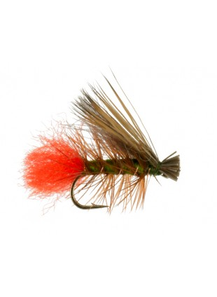 Hot Butt Caddis : Olive