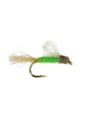 Iris Caddis : Bright Green